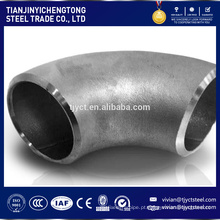 venda quente 6 polegadas de diâmetro cotovelo de tubulação de aço carbono de 60 graus