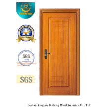 Golden Color Simple Style MDF Door for Room (xcl-828)