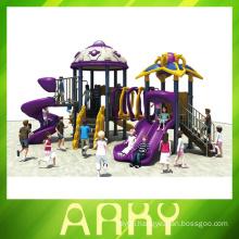 2016 Commercial plastic playground equipment for children