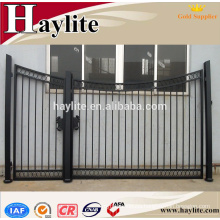 forged outdoor wrought iron door main gate/ gate grill design