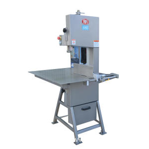 Meat cutter bone saw machine fixed table