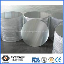 Precio del círculo de aluminio para utensilios de cocina y sartén