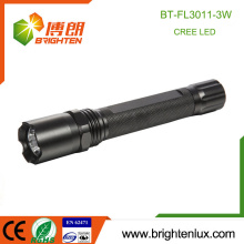 Factory Supply 1 * 18650 batterie au lithium usagé Multi-fonction Strong Light Police 3W led Rechargeable Cree Tactical Flashlight