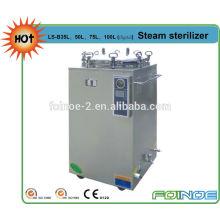 LS-B35L com ajustador de temperatura de temporização Esterilizador a vapor de pressão vertical de corte de água
