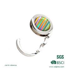 2016 Newly Customized Beautiful Rainbow Logo Bag Hanger
