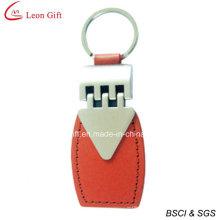 Porte-clés cuir métal en gros en ligne (LM1550)