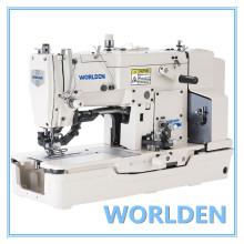 Máquina de costura industrial série alta velocidade Lockstitch reta botão Holing Wd-781