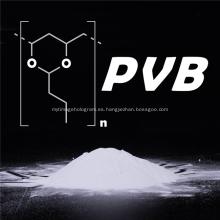 Polvo de resina PVB de polivinil butiral químico de materia prima