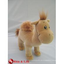 Treffen Sie EN71 und ASTM Standard ICTI Plüschtier Fabrik Kamel gefüllte Spielzeug