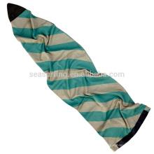 2017silver couleur avec Cali ours design sup sac / chaussette et la couverture pour la planche de surf