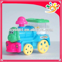 Colorful Plastic Pull Line Train Toy