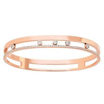Позолоченные серебристые 925 серебряные ювелирные изделия CZ Diamond для женщин