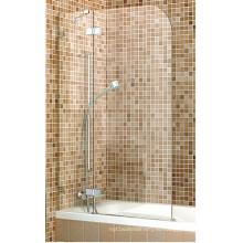 Одноместный душ душевая панель экран на ванну
