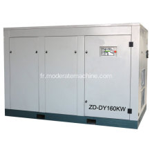 160kw / 220HP compresseur d'air à vis à fréquence variable
