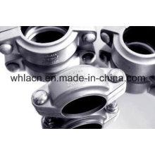 Adaptador de acoplamento de tubo de fundição de aço inoxidável (fundição)