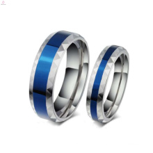 Cheap romantic stainless steel rings jewelry, custom engraved ring