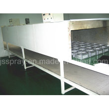 Industrial Continuous Conveyor Line Cleaning Equipment for Metal