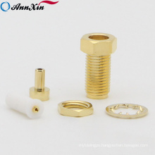 Rp-SMA Female Bulkhead Connector Assembly RF Connector For 1.37 U.FL IPX Mini Coax Cable