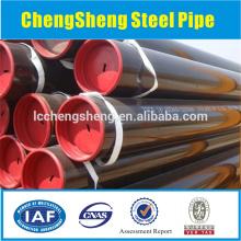 oil steel pipe api 5ct grade j55 steel casing pipe steel water well casing pipe