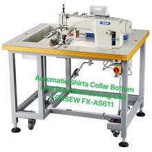 Automatic Shirts Collar Run-Stitch Sewing Machine Unit