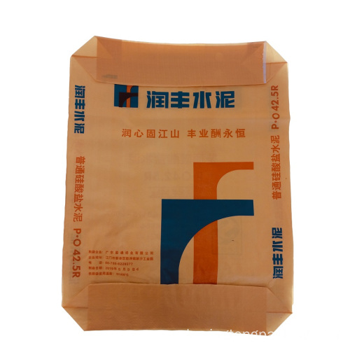 Monolayer Kunststoff Material Knit Building Cement Pouch