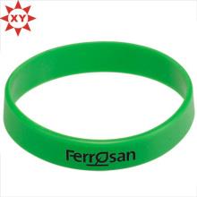 Зеленый силиконовый Браслет для взрослых с письменного