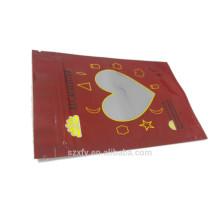 Ziplock sello bolsa de plástico para el envasado de chocolates