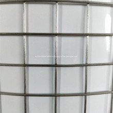 Treillis métallique soudé de 1 po en acier inoxydable d'élevage