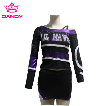 Mystique schulterfreies Cheerleading-Kleid