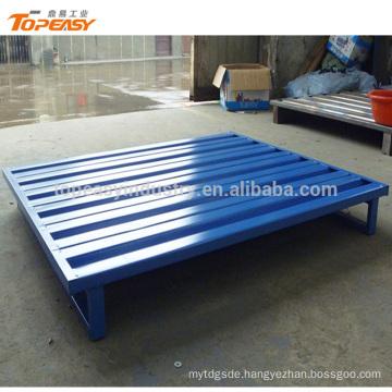 Standard size heavy duty single faced steel pallet