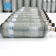 China Manufacturer 3L/6.8L/9L/12L Scuba Tank Carbon Fiber Gas Cylinder