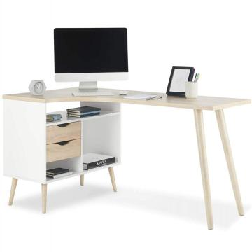 Amazon Hot Selling Office Design Tischrechner-Tisch mit Bücherregal