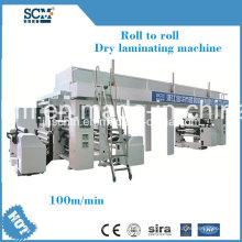 PVDC, PE, PVC, máquina de laminador de filme de alumínio