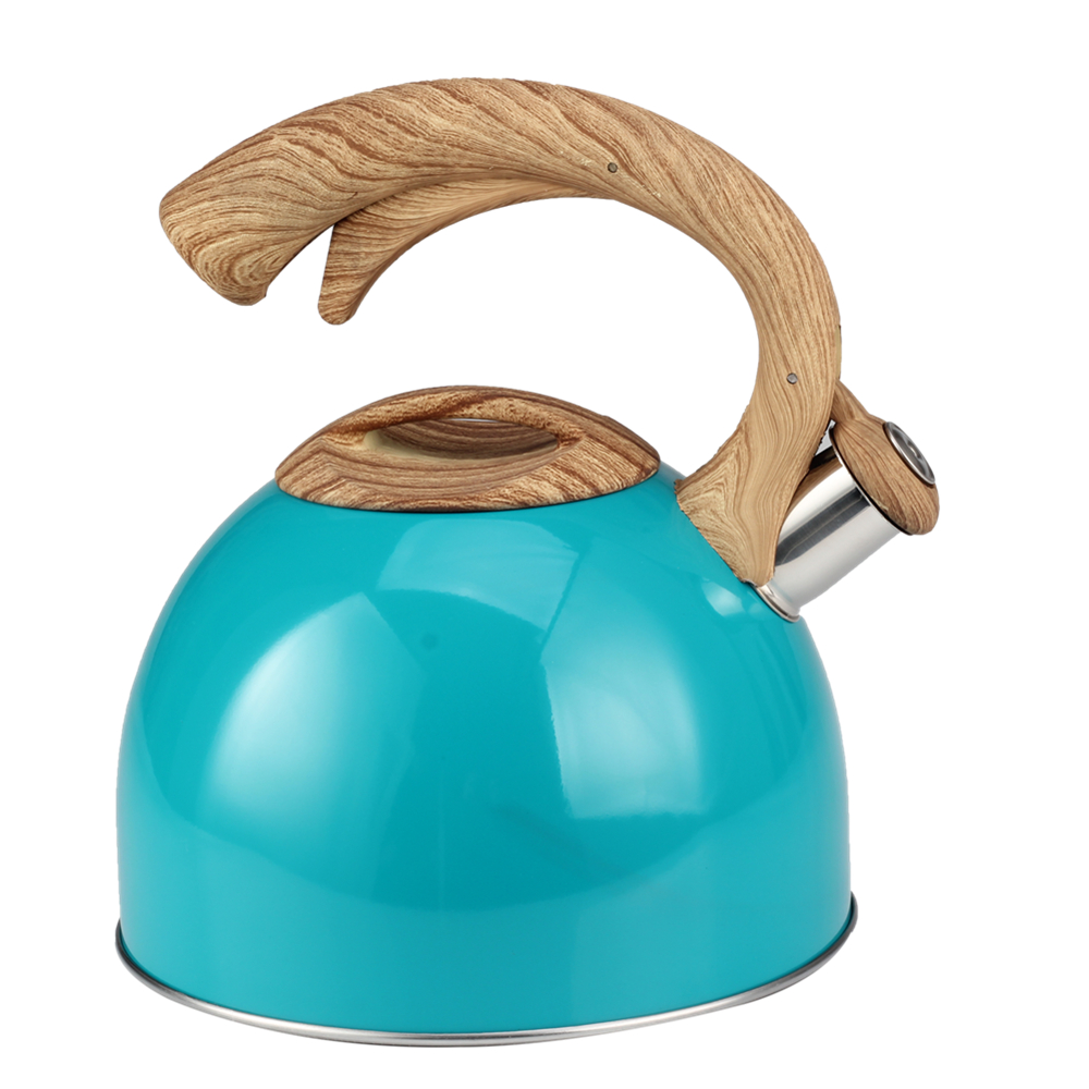 Wooden Handle Whistling Kettle