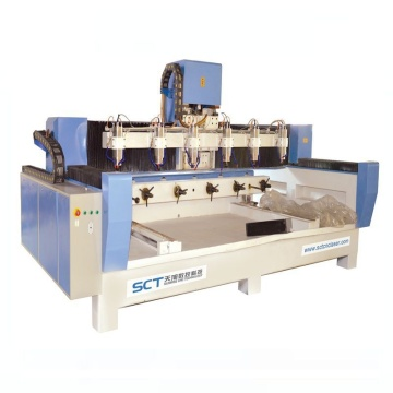 DSP Controller Spindle โรตารีไม้หินอ่อน CNC Router