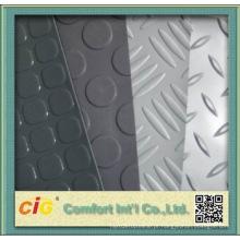Piso de PVC com Design em Aço para Uso Automático