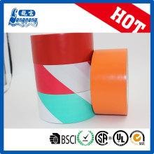 Fita de marcação de piso colorido de PVC de alta qualidade