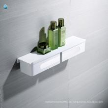 ABS-Weiß-Badezimmer-Zusatz-Multifunktionsträger-Lagerregal