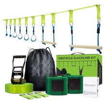 GIBBON Ninja Obstacle Course Line Kit 40ft Slackline