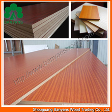 18mm Melamine Laminated MDF/Melmine MDF Board/Melamine Faced MDF