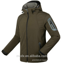 Mens New Waterproof Respirável SoftShell Jacket