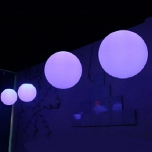 إضاءة LED مضاءة DMX RGB Ball Light