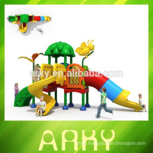 2015 commercial small kids playground for sale park slide KFC restaurant kids play structure