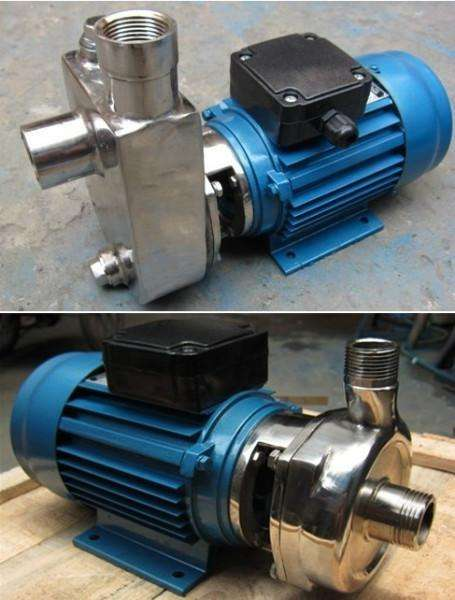 SFBX stainless steel corrosion-resistant self-priming pump 3