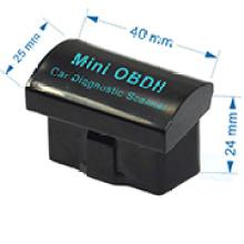 OEM/ODM schwarz V2. 1 Mini Obdii Elm327 Bluetooth-Schnittstelle Auto Scanner OBD2 Elm 327 Auto Diagnose-Tool für Android MOQ 1000Stck