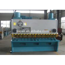 QC11Y-6 * 3200 hydraulische CNC Metallplatte 6mm Schere Maschine zum Verkauf