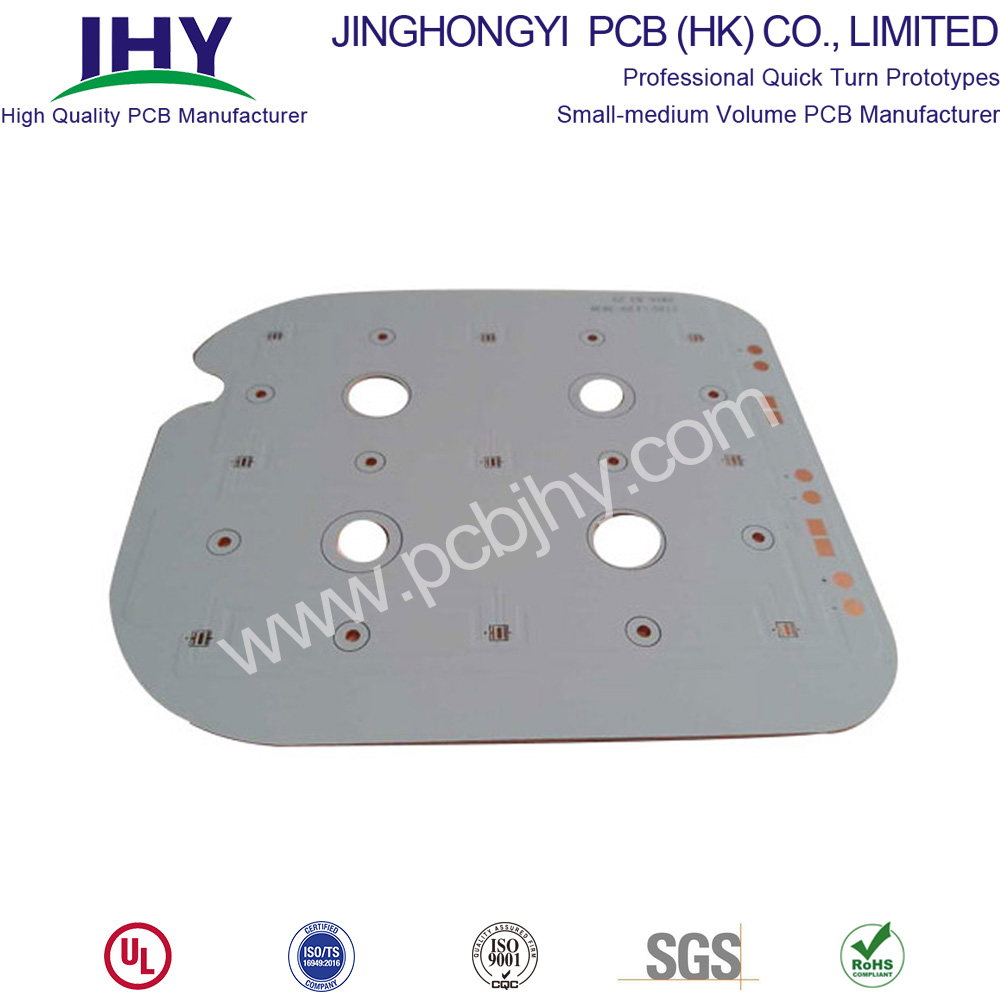 ENIG White 1L Copper Base PCB Metal PCB