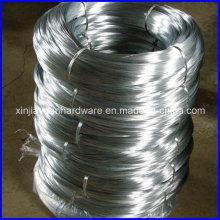 Fil de fer galvanisé revêtu de zinc à haute résistance pour la fabrication de mailles