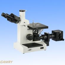 Umgekehrtes metallurgisches Mikroskop Mlm-17at Qualität