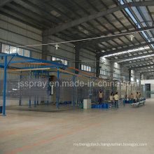 Sunlight Painting Production Line for Aluminum Extrusions